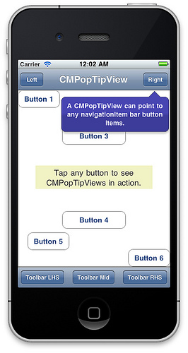 [iOS] チップスの吹き出しを簡単に表示する方法