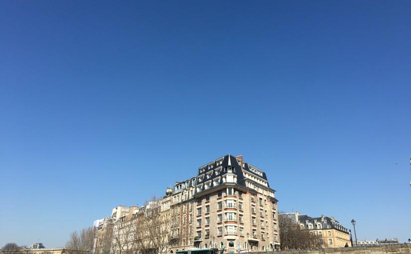 パリ一人旅 〜 美しい街並み見物編