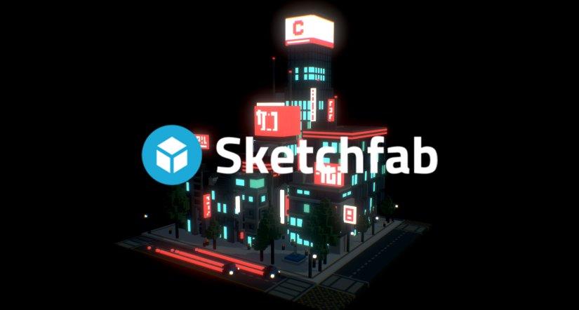 3Dアートのショーケース「Sketchfab」が超おもろい