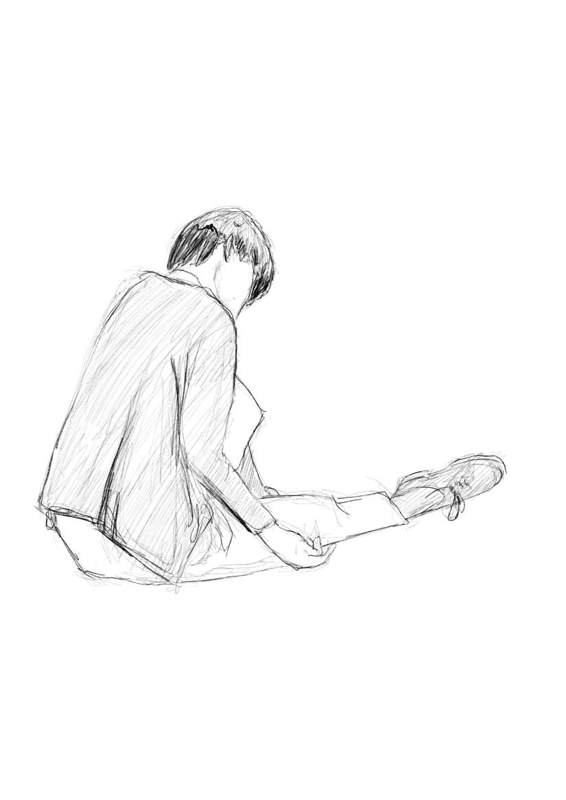 デッサン会 @ 原宿