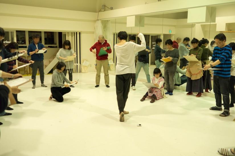 デッサン会@バレエスタジオ